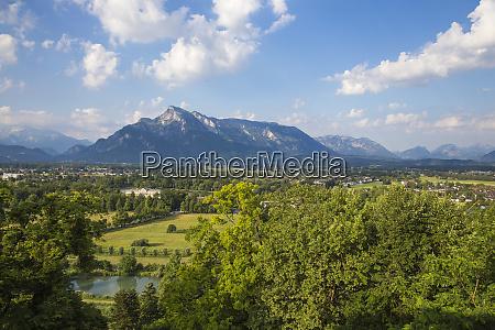 view towards leopoldskron palace salzburg austria