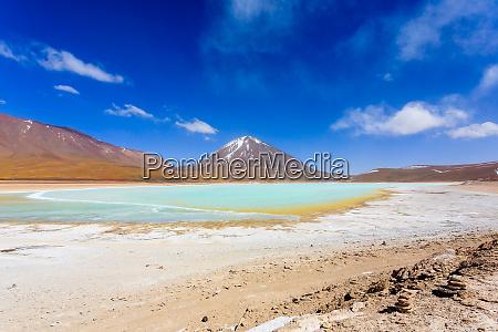 die gruene laguna verde bolivien