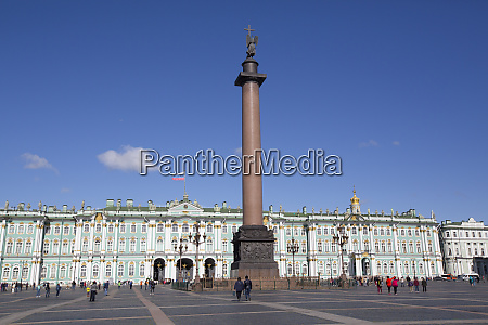 alexander column on palace square state