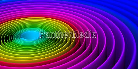 bunte abstrakte spiralmuster hintergrund