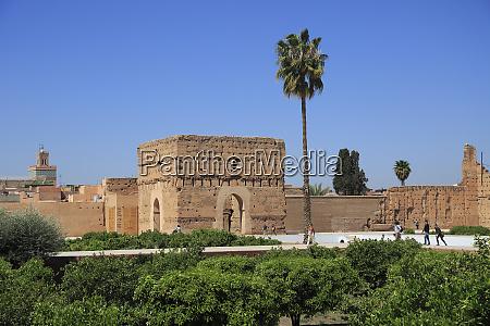 el badi palace badii palace badia