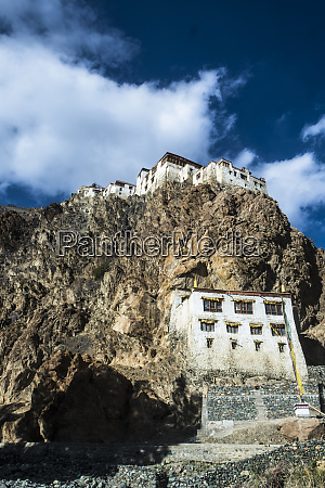 blick auf das kharsha kloster vom