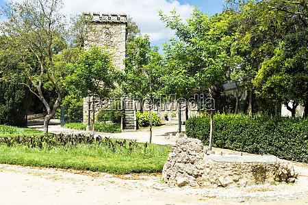 ruinas fingidas don manuel royal palast