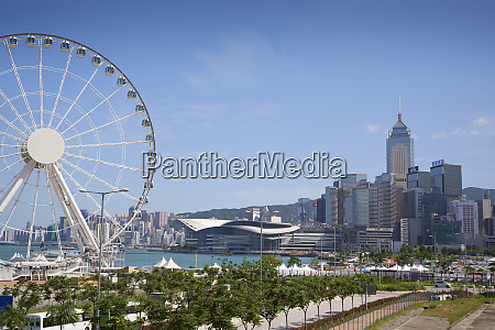 the hong kong observation wheel victoria