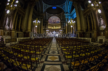la madeleine church paris france europe