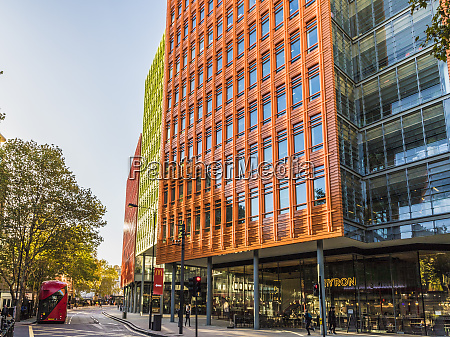 the colourful architecture of central st