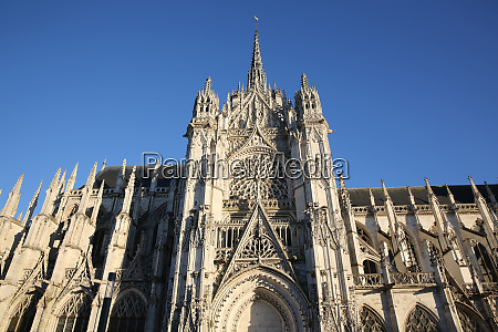 notre dame cathedral evreux eure normandy