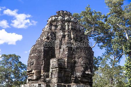 bayon angkor temple complex unesco world