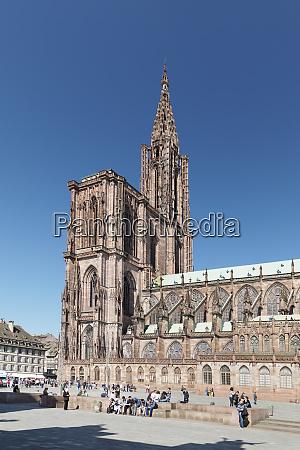 place de la cathedrale and strasbourg