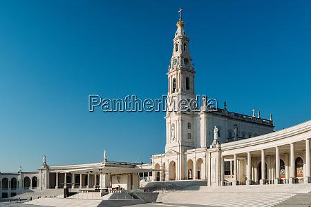 the sanctuary of fatima basilica of