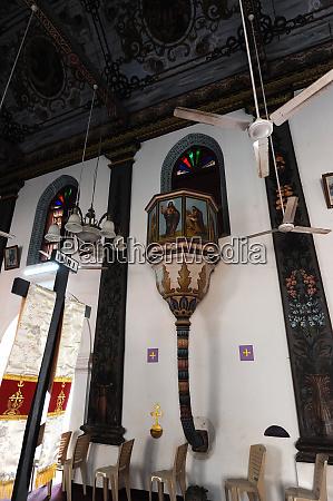 interior st marys forane church one