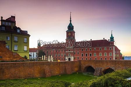 royal castle in plac zamkowy castle