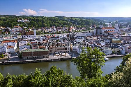 germany bavaria passau city view