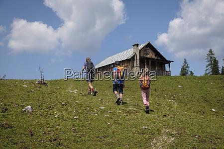 austria ausseer land family hiing in