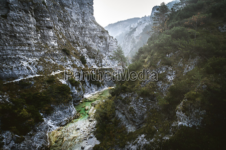 austria lower austria ybbstal alps OEtschergraeben