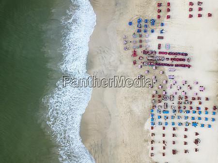 indonesia bali aerial view of jimbaran