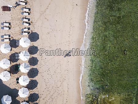 indonesia bali aerial view of balngan