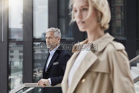 germany duesseldorf portrait of mature businessman