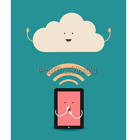 cloud computing the concept of reception