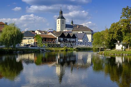 germany lower bavaria regen cityview and
