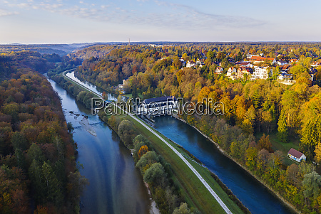 germany upper bavaria pullach isar valley