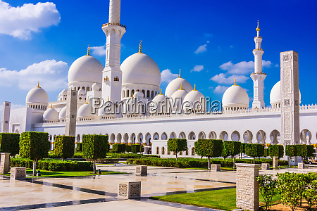 scheich zayid moschee in abu dhabi