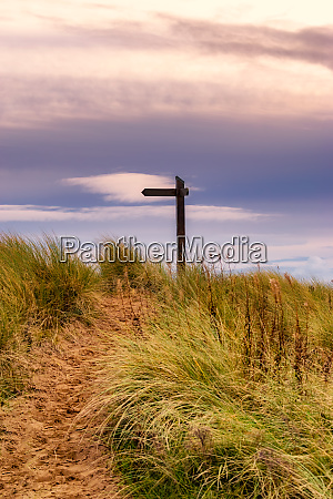 great britain scotland solway firth sign