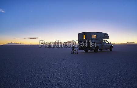 bolivien salar de uyuni wohnmobil auf