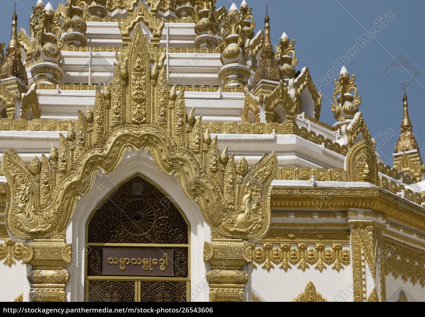 detail, of, swe, taw, myat, pagoda - 26543606