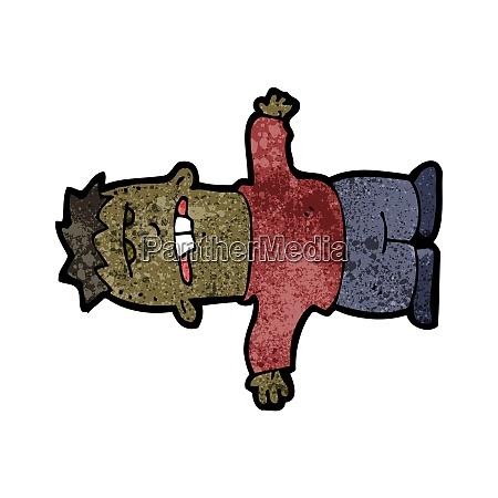 handgezeichnete, karikatur - 26545682