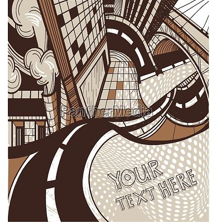 vektor urbane illustration