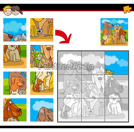 jigsaw puzzles with dogs and cats