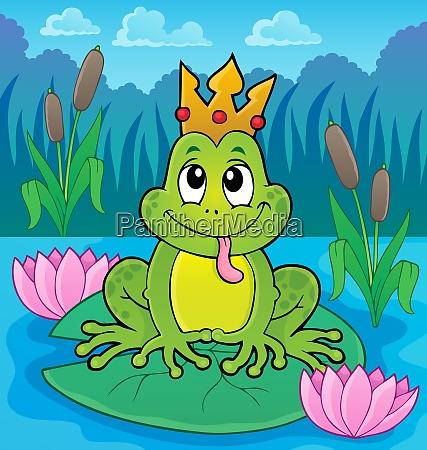 frosch mit krone thema bild 4