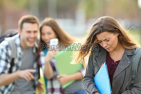 mobbing opfer von klassenkameraden erfasst