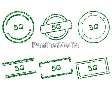 5g briefmarken