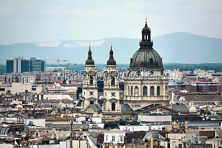 budapest cathedral basilica panorama