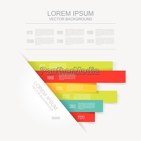 abstract 3d vector illustration infographic can