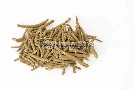 ashwagandha or winter cherry roots