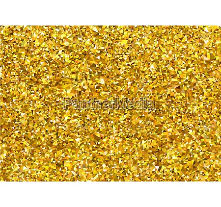 abstract golden polygonal texture