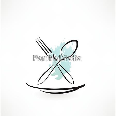 gabel und loeffel symbol