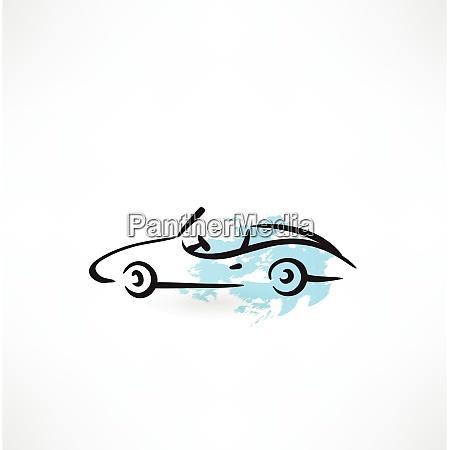 auto grunge symbol