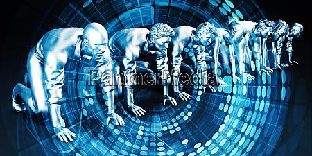 ermaechtigt technologie loesungen technologien web konzept