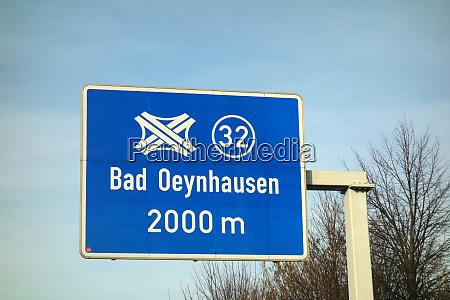 federal motorway bad oeynhausen interchange
