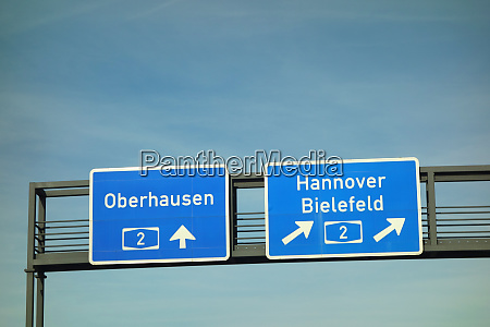 bundesautobahn oberhausen hannover bielefeld