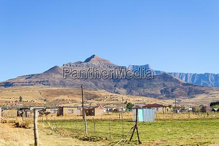 suedafrikanische shantytown