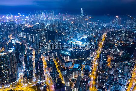 kowloon city hongkong 19 februar 2019