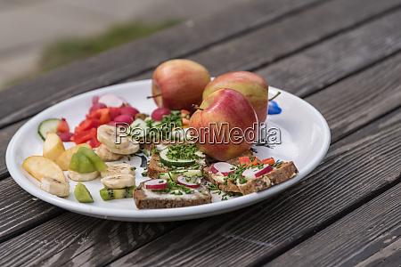 healthy food delicious snack bread