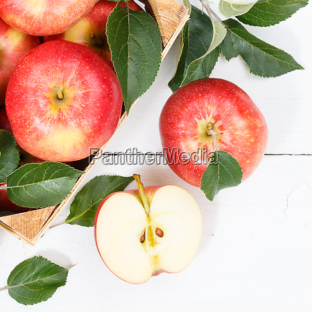 apples apple fruits fruit from above