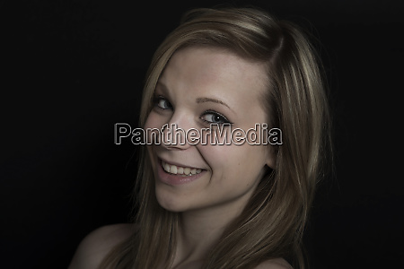 385000portrait of a happy young woman