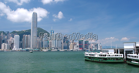 victoria harbor hong kong 31 may